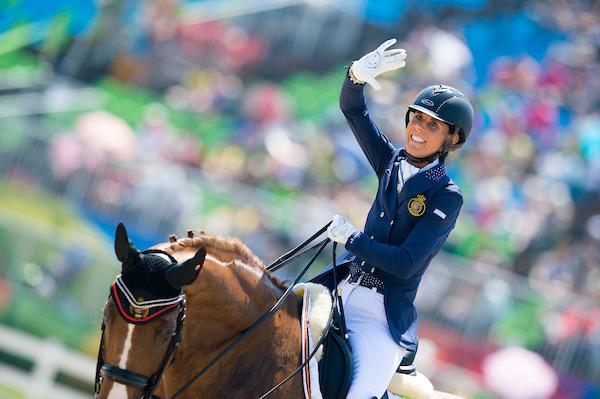 Belgisch Para Equestrian Team Voor Het Europees