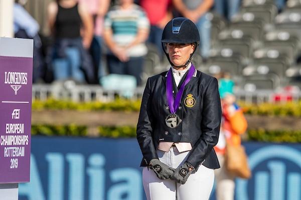 Manon Claeys zorgt voor zesde Belgische EK-medaille in de